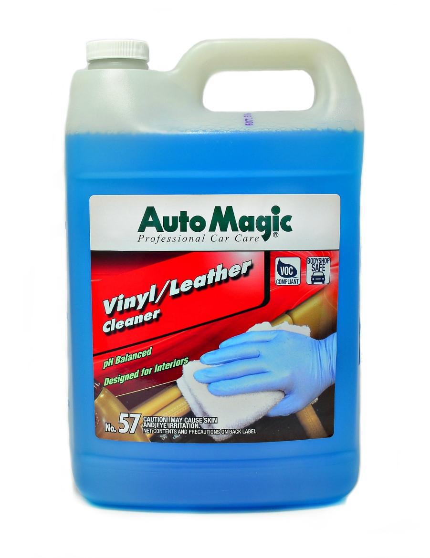 Очиститель для кожи и винила Auto magik №57 Vinyl/Leather Cleaner