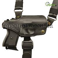 Кобура оперативная Медан 1004 для Ekol Major кожаная формованная с комбинированным креплением, фото 1
