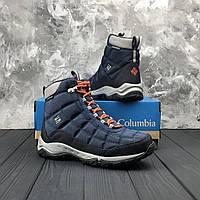 44dcb1c429ad Женские зимние трекинговые ботинки Columbia Faircamp Boot Red Canyon,  Темно-синие
