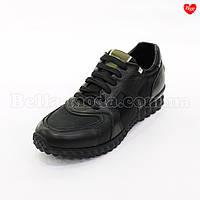 Мужские кроссовки Valentino кожа плащёвка , фото 1