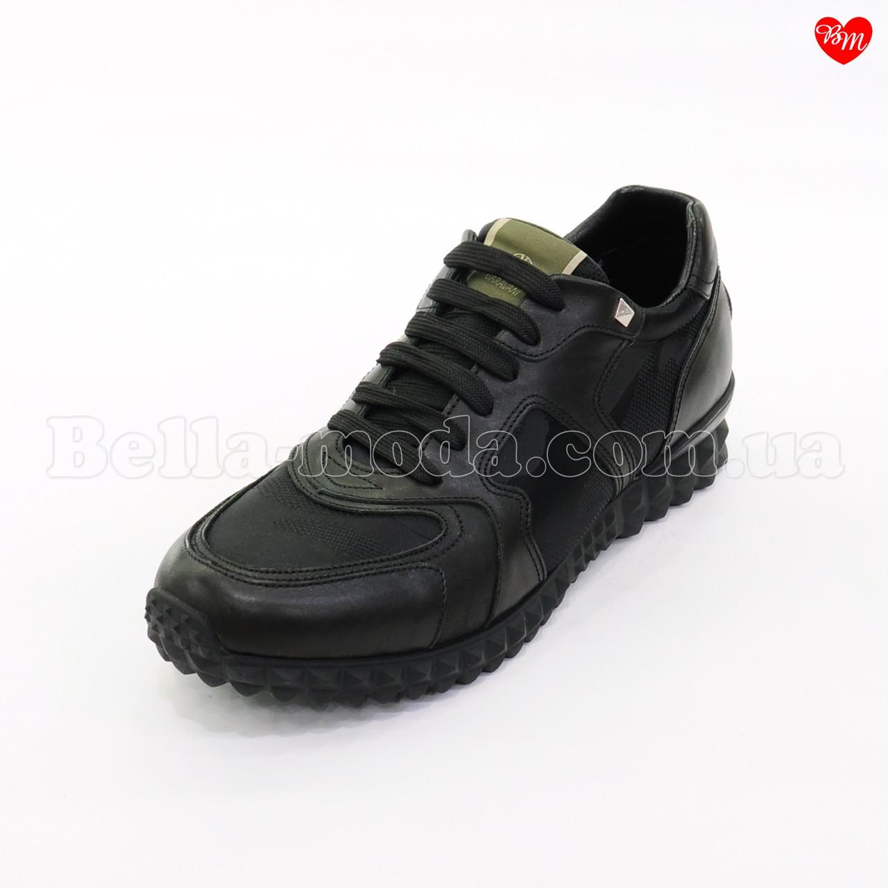 ad5fe86ff0a6 Купить Мужские кроссовки Valentino кожа плащёвка в розницу от ...