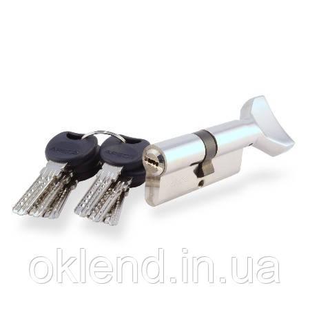 Цилиндр Apecs 4KC с поворотником хром