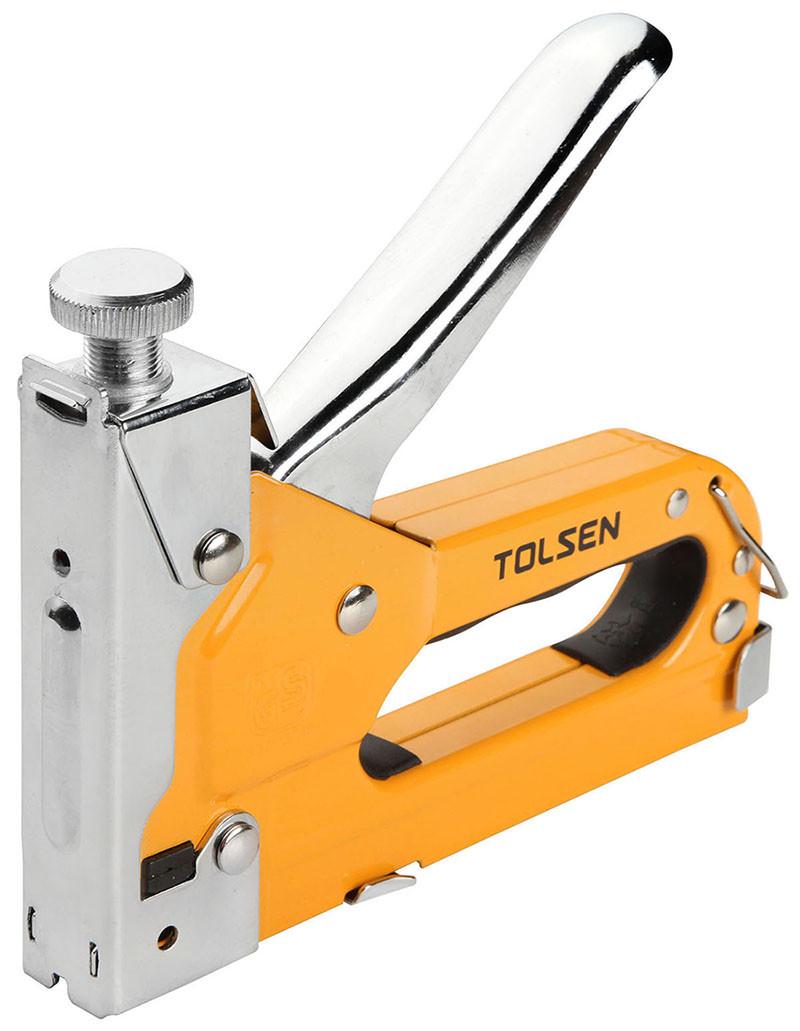 Степлер металевий 3-в-1 Tolsen