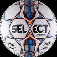 Мяч футбольный Select Brillant Super FIFA TB р.5 бело-синий
