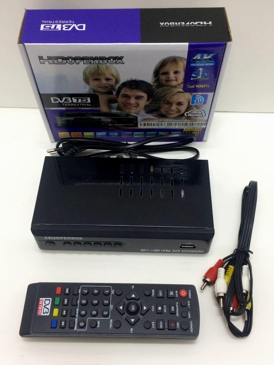 Цифровой ТВ тюнер DVB-Т2 для телевизора