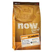 NOW Беззерновой для взр. собак с индейкой, уткой и лососем (Fresh Adult Recipe Grain Free 26/16) 2.72 кг