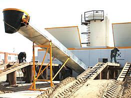 Мобильный бетонный завод FIBO INTERCON FI1800 зимний