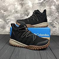 Мужские зимние трекинговые ботинки Columbia FAIRBANKS 503 Black Mud 758705d650ffd