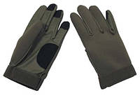 Тактические перчатки из неопрена MFH Олива