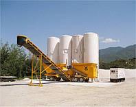 Мобильный бетонный завод FIBO INTERCON M2200