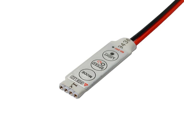 Контроллер RGB 12A (3 button) mini