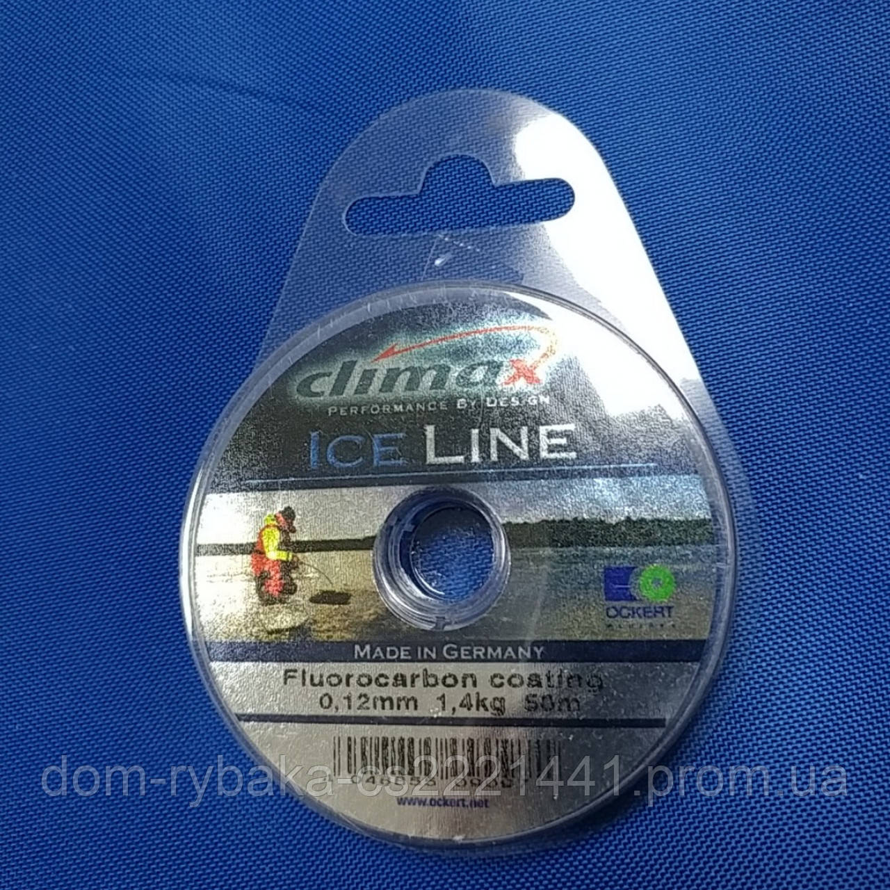 Леска Climax Ice-line Fluorocarbon coated 0.12мм 1,4kг50м(16353)