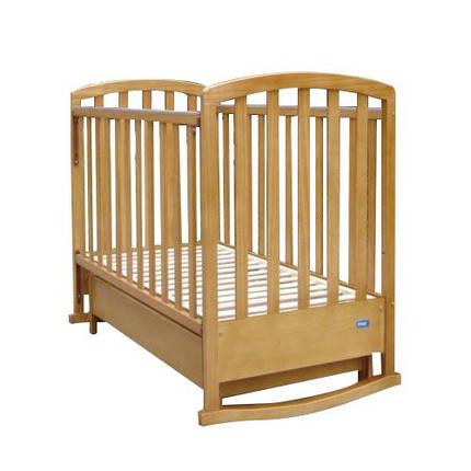 Детская кроватка Mioo BC-500 тик, фото 2
