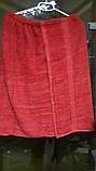 Юбка-полотенце для сауны и бани (коричневый), фото 2