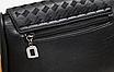 Женская сумка кросс боди с плетением Crown Черный, фото 3