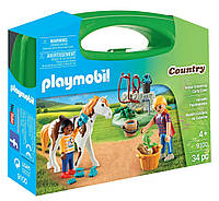 Игровой набор Уход за Лошадью PLAYMOBIL® Horse Grooming Carry Case