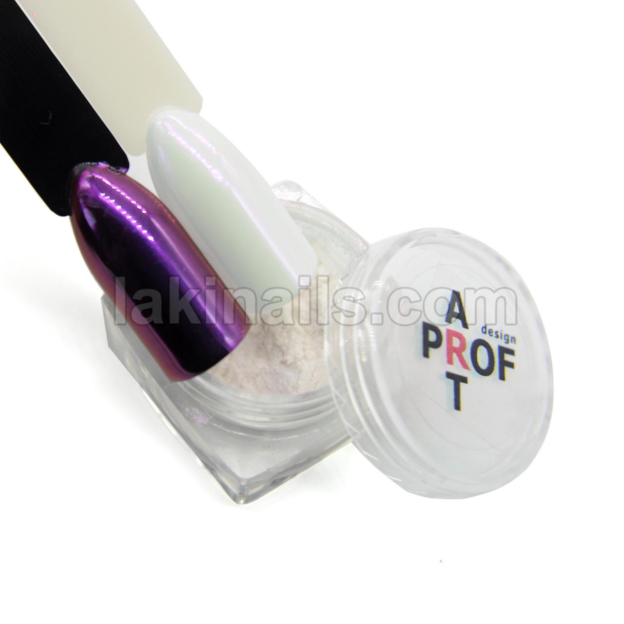 Жемчужная зеркальная втирка PP-08, фиолетовая