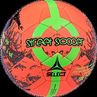 Мяч футбольный Select Street Soccer р.4,5 оранжево-зеленый