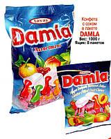 Жевательная конфета TAYAS Damla ассорти 1кг.