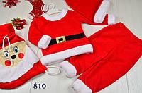 Детский костюм деда мороза на мальчика Санта №2