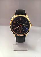 Мужские наручные часы Louis Vuitton (Луи Виттон), золотисто-черный цвет ( код: IBW180YB )