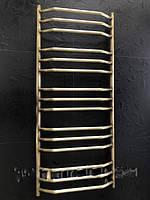 Бронзовый полотенцесушитель 500*1200 Трапеция 15 АЗОЦМ , фото 1