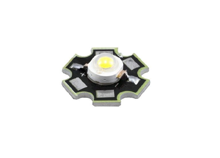 Светодиод 3 вт на подложке белый (3000К) ВIN1