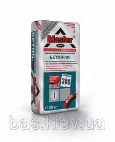 MASTER  BETON-X Стяжка (м300) Пескобетон от 10мм до 300мм, 25кг