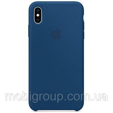 Чехол Silicone Case для iPhone Xs Max, Blue Horizon
