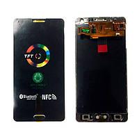 Дисплейный модуль Samsung A500 с переходной рамкой черный