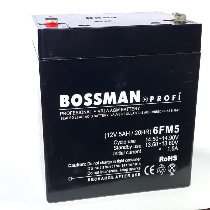 Аккумулятор Bossman Profi LA 1250 (12v/5Ah) 6FM5