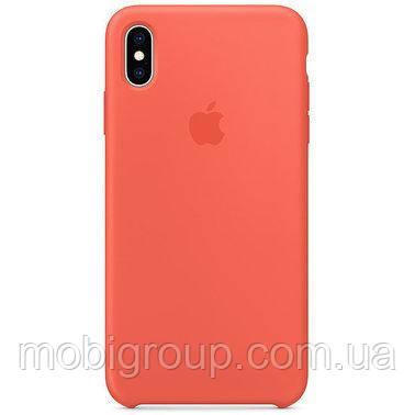 Чехол Silicone Case для iPhone Xs Max, Nectarine