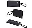 Женская сумка большая с ручками в наборе клатч и кошелек Cat Черный, фото 5