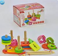 Деревянная игрушка, обучающая и развивающая игрушка