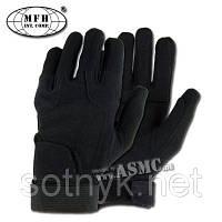 Тактические перчатки MFH Stripes Черные, фото 1