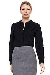 Блуза VILONNA 17 с кружевом 34 Черный F71026-34, КОД: 265871