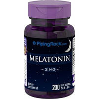 Piping Rock Melatonin 3 mg 250 tab