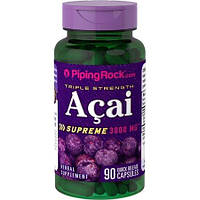 Piping Rock Triple Strength Acai Supreme 90 capsules