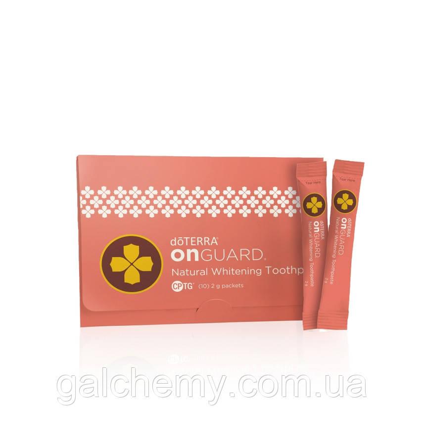 dōterra On Guard® Natural Whitening Toothpaste Samples/«На страже» пробник отбеливающей зубной пасты,10шт*2мл
