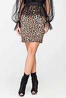 Юбка с леопардовым принтом, фото 1