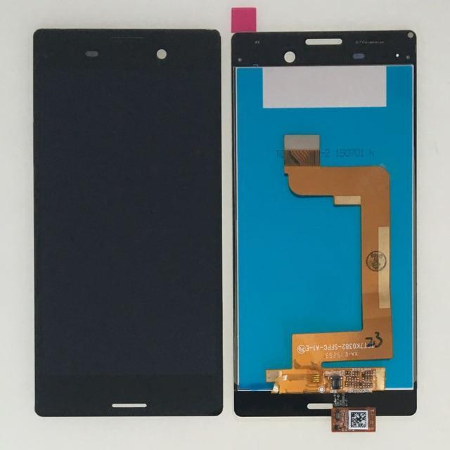 Дисплей модуль Sony Xperia M4 Aqua E2303, E2306, E2353 в зборі з тачскріном, чорний, з рамкою, Original (PRC)