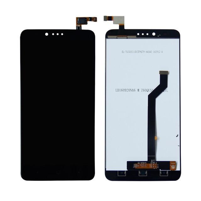ZTE ZMAX Pro Z981 дисплей в зборі з тачскріном модуль чорний