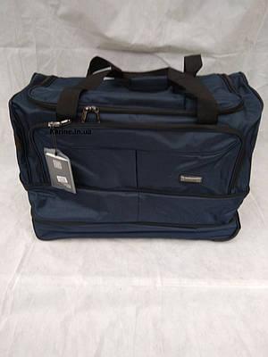 Дорожная сумка на трех колесах 120 л, с расширением XL