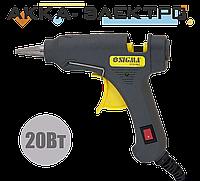 Пистолет термоклеевой с выключателем 8мм 20Вт SIGMA 2721061, фото 1