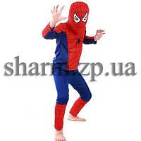 Маскарадный костюм Спайдермен синий, фото 1