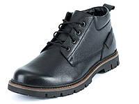 Зимние ботинки мужские кожаные Mida 14246