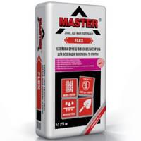 MASTER  FLEX Еластичный универсальный клей для облицовки каминов и теплых полов, 25 кг