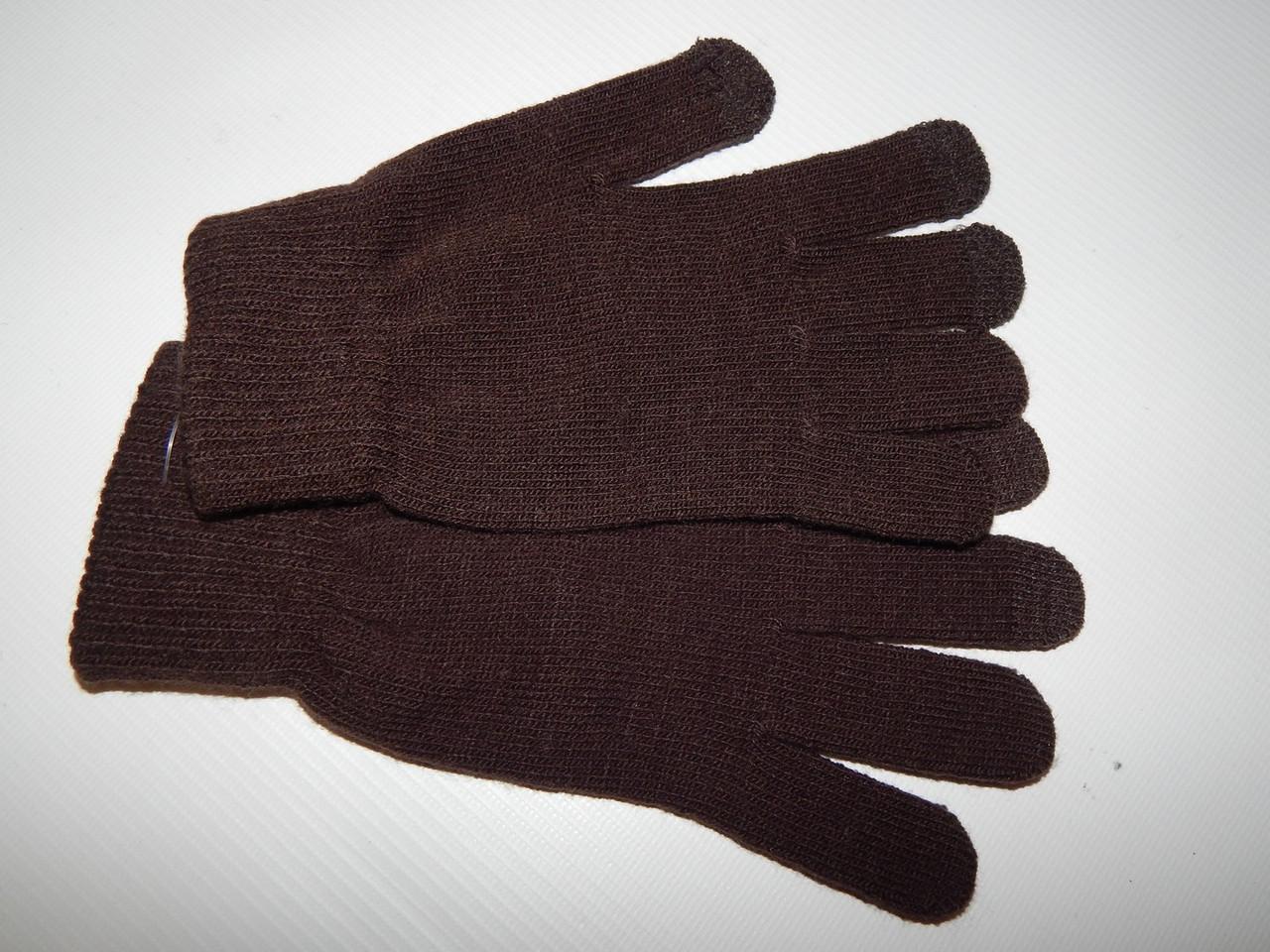 Перчатки женские сенсорные трикотажные р.L (8) 006PGZ