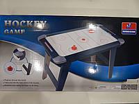 Игра хоккей воздушный, деревянный, на ножках, 90-50-65, на бат-ке