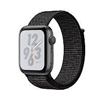 Apple Watch Series 4 Nike+ 40mm (GPS) Space Gray Aluminum Case with Black Nike Sport Loop